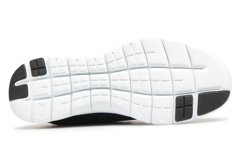 Chaussures de sport Skechers Flex Appeal 2.0-Mixed Media Noir vue haut