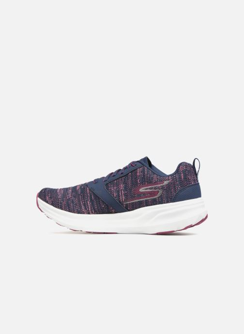 Chaussures de sport Skechers Go Run Ride 7- Violet vue face