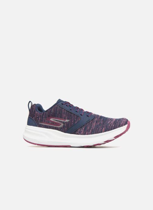 Chaussures de sport Skechers Go Run Ride 7- Violet vue derrière