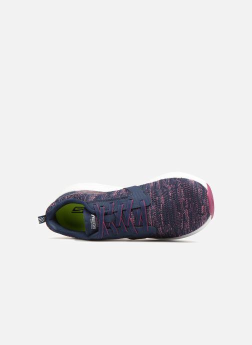 Chaussures de sport Skechers Go Run Ride 7- Violet vue gauche