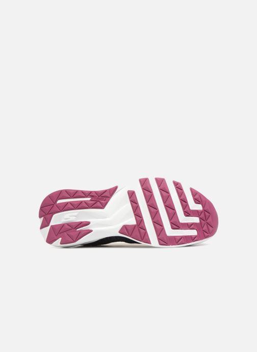 Chaussures de sport Skechers Go Run Ride 7- Violet vue haut