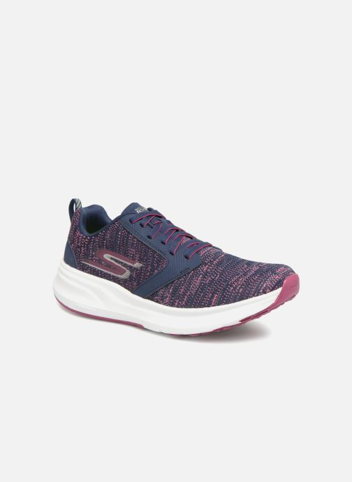 Chaussures de sport Skechers Go Run Ride 7- Violet vue détail/paire