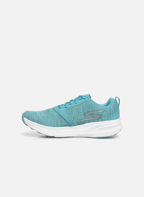 Chaussures de sport Skechers Go Run Ride 7- Bleu vue face