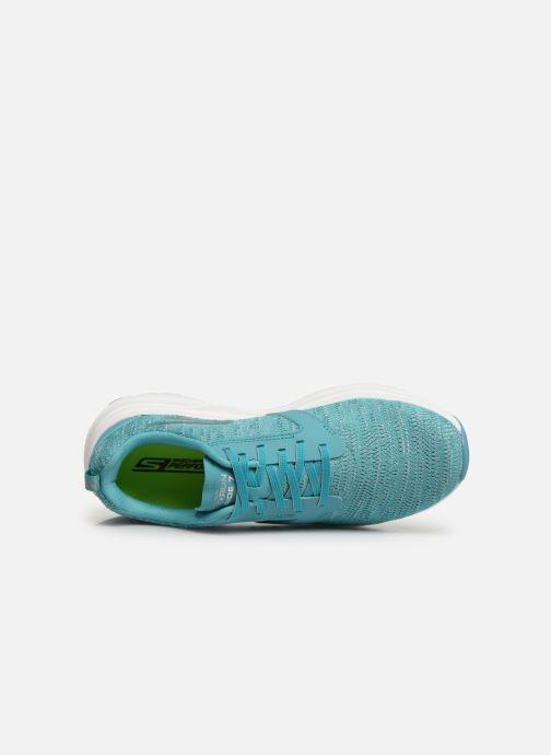Scarpe sportive Skechers Go Run Ride 7- Azzurro immagine sinistra