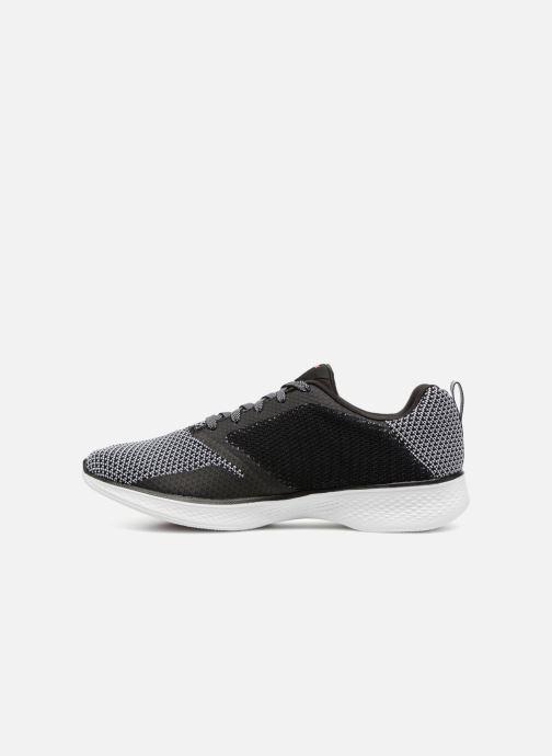 Sport shoes Skechers Go Walk 4 1 Black front view