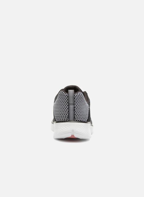 Zapatillas de deporte Skechers Go Walk 4 1 Negro vista lateral derecha