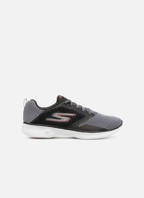 Chaussures de sport Skechers Go Walk 4 1 Noir vue derrière