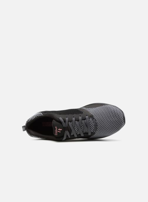 Sport shoes Skechers Go Walk 4 1 Black view from the left