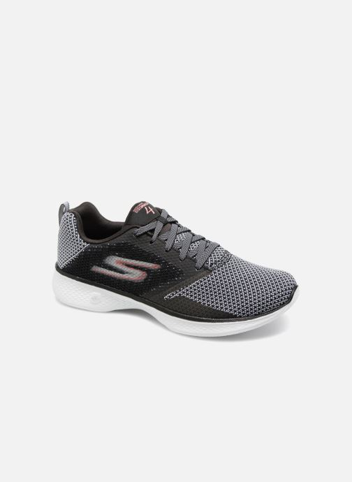 Zapatillas de deporte Skechers Go Walk 4 1 Negro vista de detalle / par