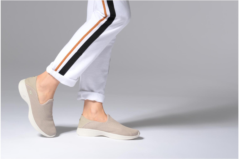 Sneakers Skechers Go Walk 4-Convertible Beige bild från under