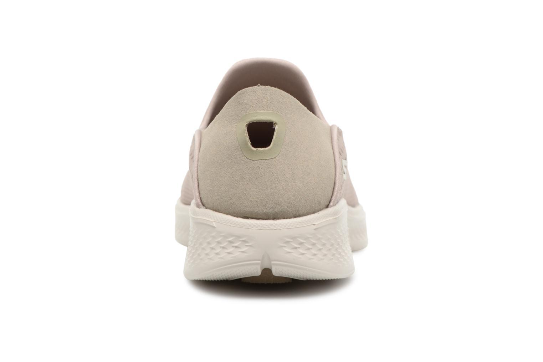 Sneakers Skechers Go Walk 4-Convertible Beige Bild från höger sidan