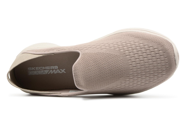 Sneakers Skechers Go Walk 4-Convertible Beige bild från vänster sidan