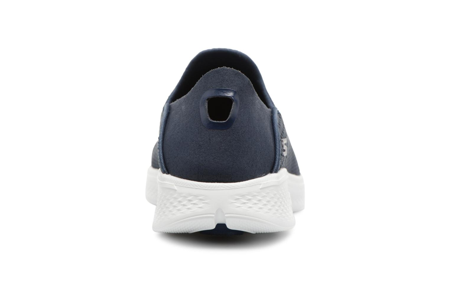 Trainers Skechers Go Walk 4-Convertible Blue view from the right