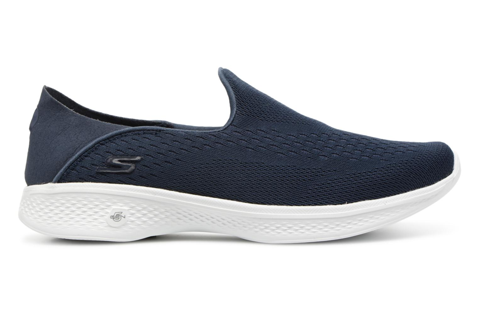 Trainers Skechers Go Walk 4-Convertible Blue back view