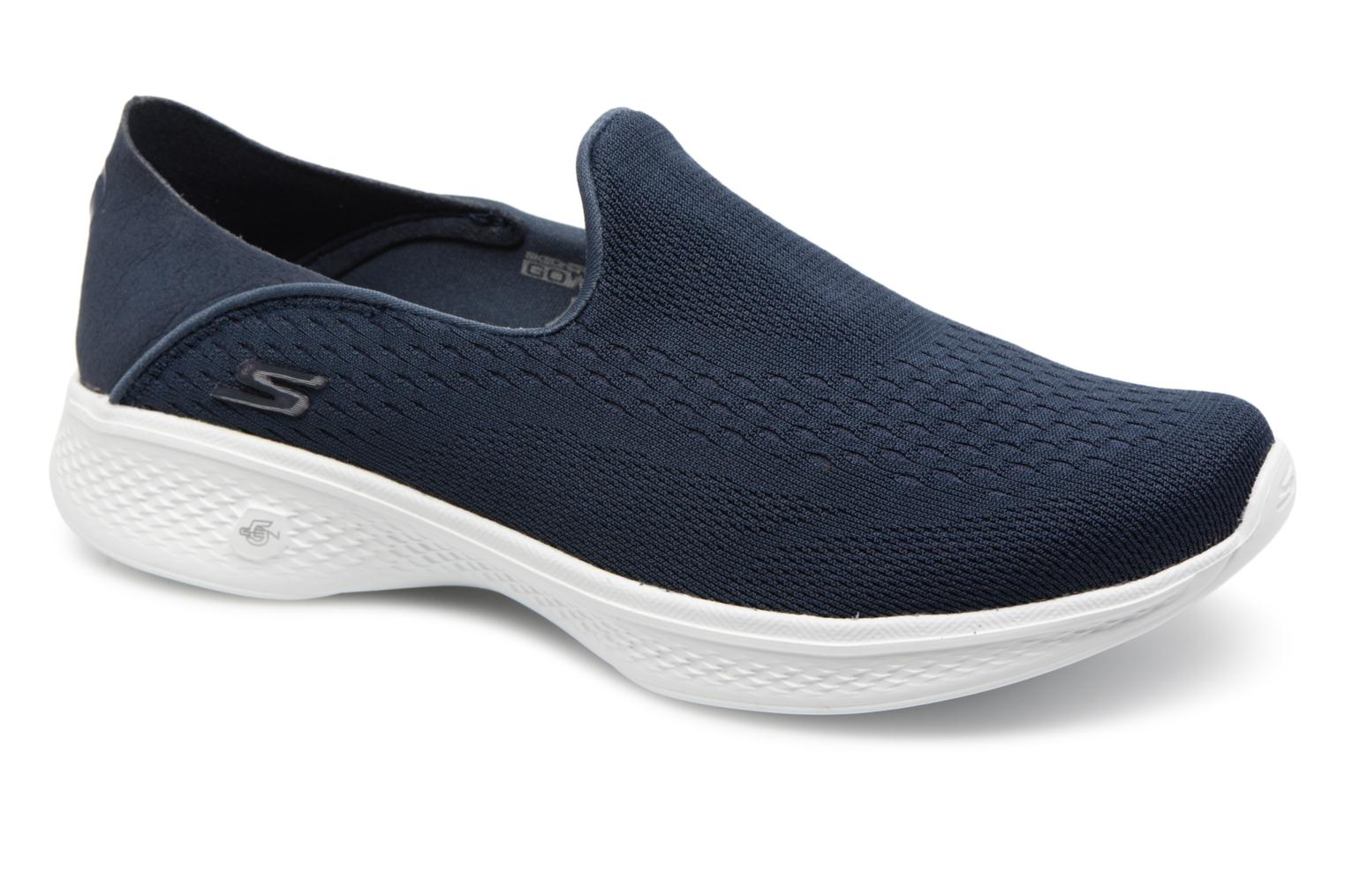 Trainers Skechers Go Walk 4-Convertible Blue detailed view/ Pair view