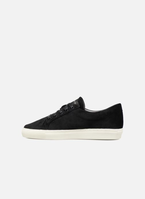 Trainers Skechers Vaso-Flor Black front view