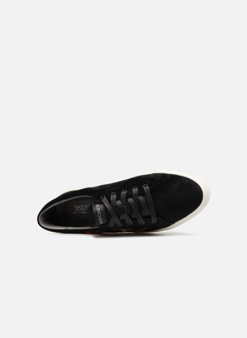 Trainers Skechers Vaso-Flor Black view from the left
