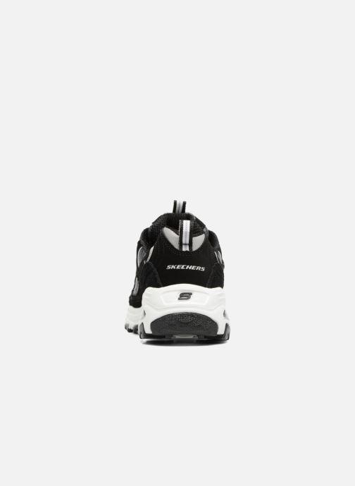 Baskets Skechers D'Lites-Me Time Noir vue droite