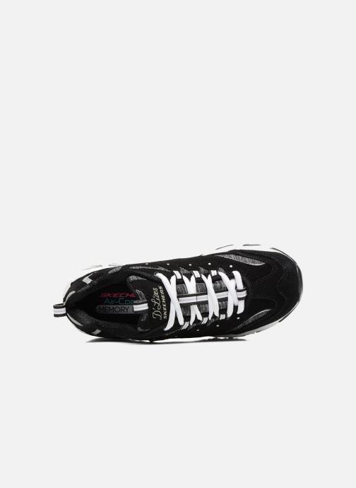 Baskets Skechers D'Lites-Me Time Noir vue gauche