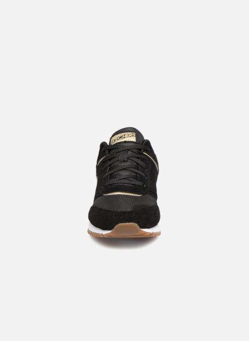 Baskets Skechers Sunlite Revival Noir vue portées chaussures