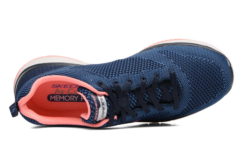 Chaussures de sport Skechers Burst Tr-Close Knit Bleu vue gauche