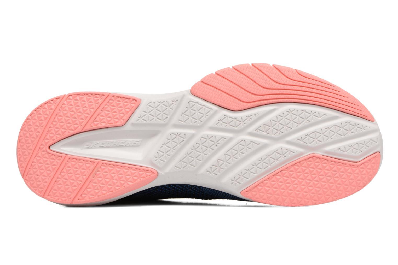 Chaussures de sport Skechers Burst Tr-Close Knit Bleu vue haut