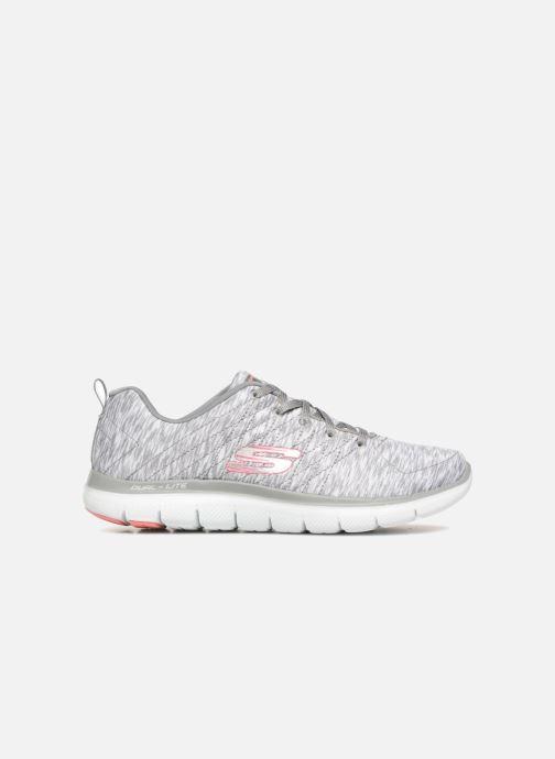 Chaussures de sport Skechers Flex Appeal 2.0 Reflection Gris vue derrière