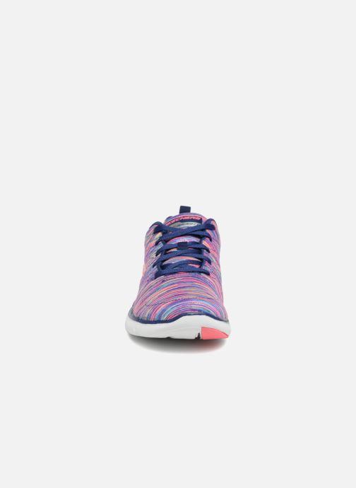 Sportschuhe Skechers Flex Appeal 2.0 Reflection mehrfarbig schuhe getragen