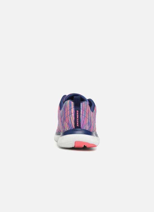 Sportschuhe Skechers Flex Appeal 2.0 Reflection mehrfarbig ansicht von rechts