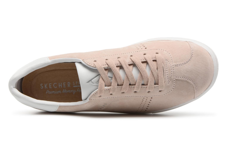 Sneakers Skechers Moda- Rosa bild från vänster sidan