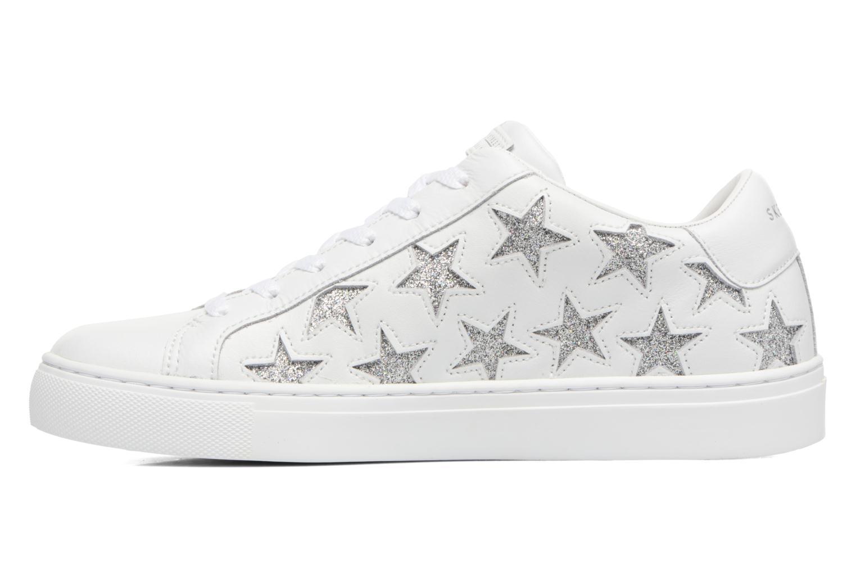Baskets Skechers Side Street-Star Side Blanc vue face