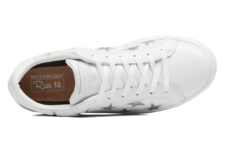 Baskets Skechers Side Street-Star Side Blanc vue gauche