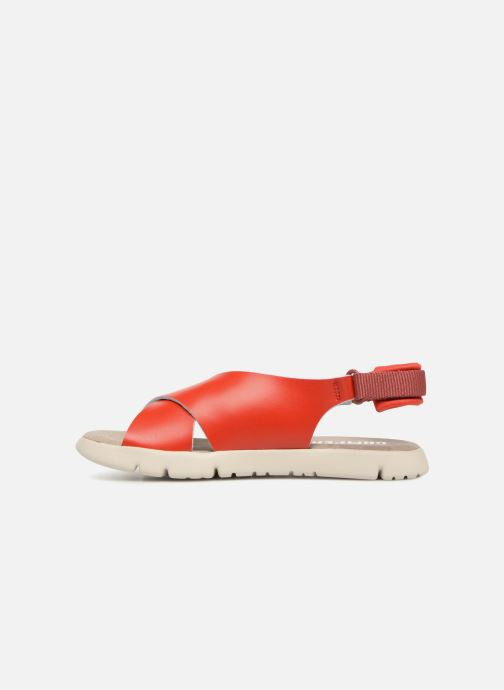 Sandals Camper Mira Red front view