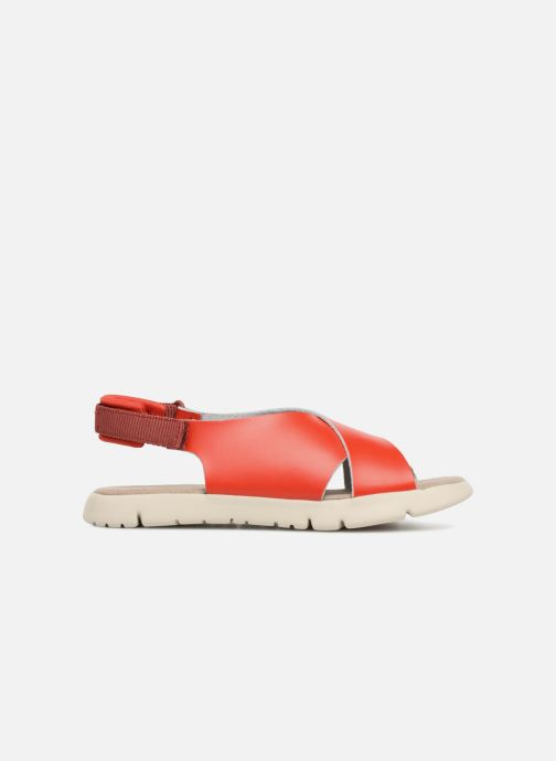 Sandals Camper Mira Red back view