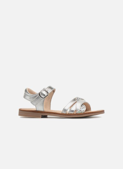 Sandales et nu-pieds Romagnoli Matilde Argent vue derrière