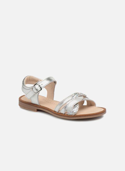Sandales et nu-pieds Romagnoli Matilde Argent vue détail/paire