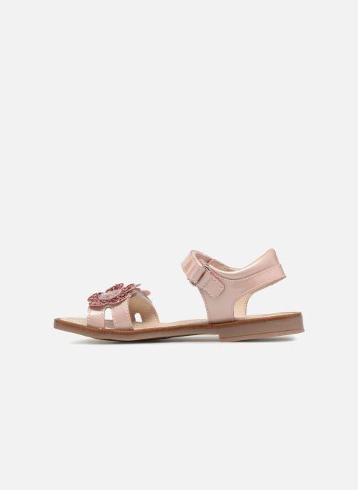 Sandales et nu-pieds Romagnoli Mirella Rose vue face