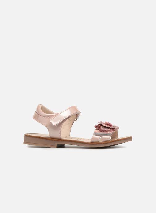 Sandales et nu-pieds Romagnoli Mirella Rose vue derrière