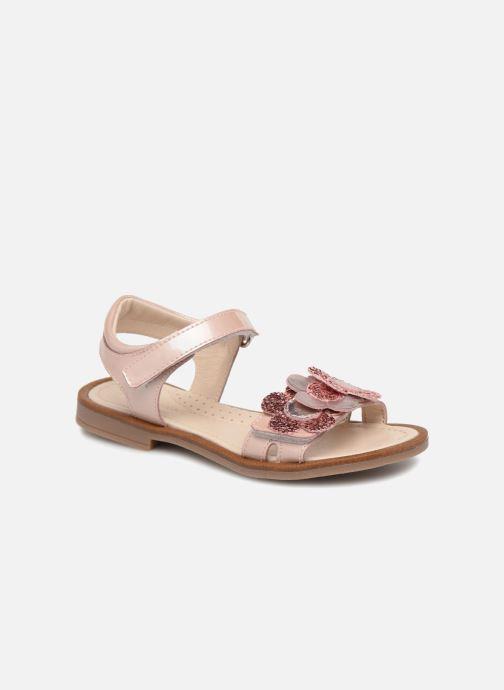 Sandales et nu-pieds Romagnoli Mirella Rose vue détail/paire