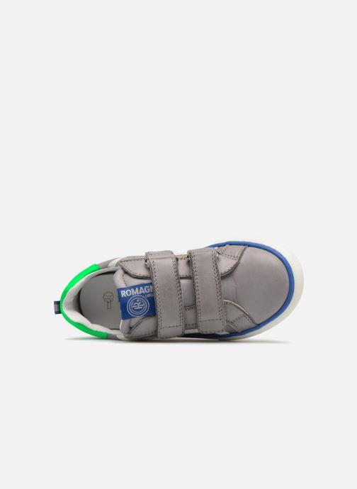 Sneakers Romagnoli Gabrio Grigio immagine sinistra