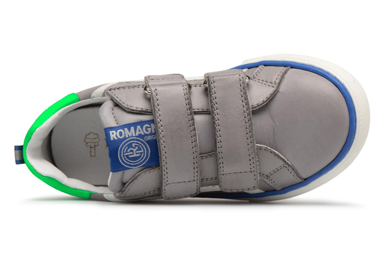 Baskets Romagnoli Gabrio Gris vue gauche