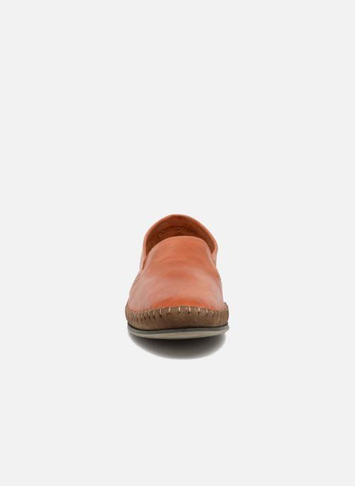 Mocassins Fluchos Bahamas 8264 Orange vue portées chaussures