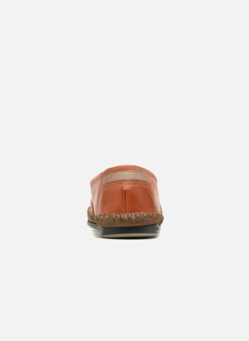 Mocassins Fluchos Bahamas 8264 Orange vue droite