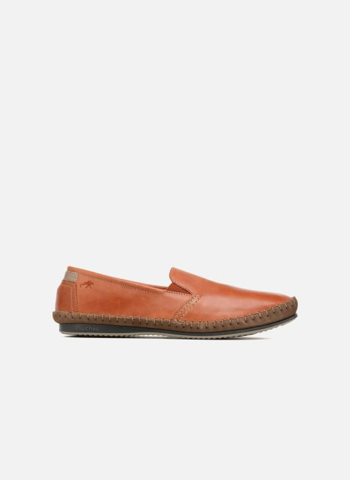Mocassins Fluchos Bahamas 8264 Orange vue derrière