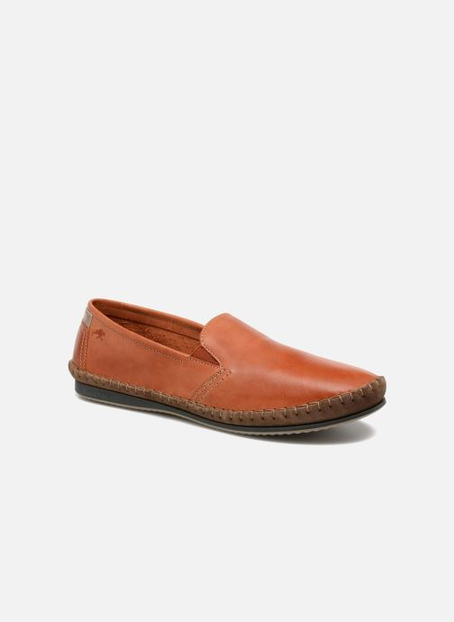 Mocassins Fluchos Bahamas 8264 Orange vue détail/paire