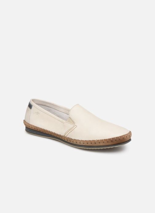 Loafers Fluchos Bahamas 8264 White detailed view/ Pair view