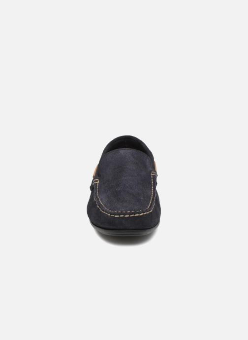 Mocassins Fluchos Lex 6806 Bleu vue portées chaussures
