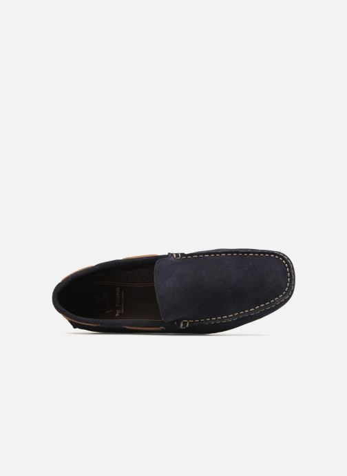 Loafers Fluchos Lex 6806 Blue view from the left