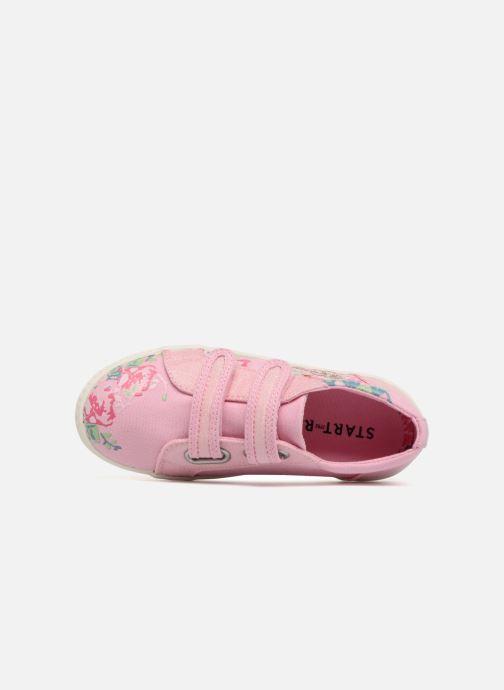 Sneaker Start Rite Edith 2 rosa ansicht von links