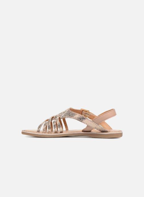Sandales et nu-pieds Bopy Fouada Lilybellule Argent vue face